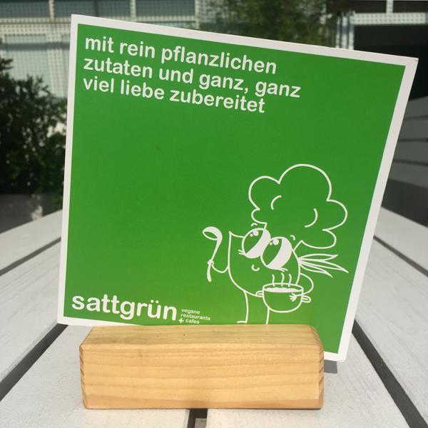 Sattgrün Theaterpassage . Veganes Buffetrestaurant & Café